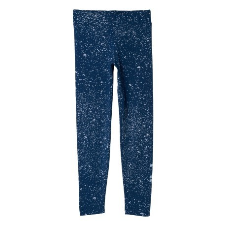 Tight Essential Linear Printed blu fantasia