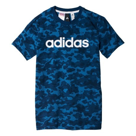 T-Shirt Junior Essential Linear blu fantasia