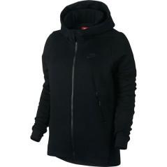 Felpa Donna SportWear Tech Fleece nero