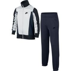 Tuta Junior Sportswear Warm-Up blu bianco
