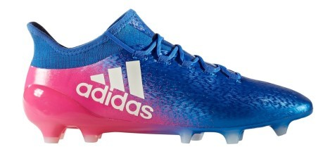 Football boots Adidas X 16.1 FG Blue Blast Pack colore Blue Pink ... c2aee3d53