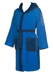 Accappatoio Zebu Bicolore Azzurro Blu