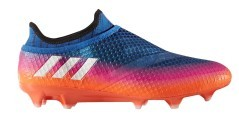 Chaussures de football Messi 16+ PureAgility FG bleu orange