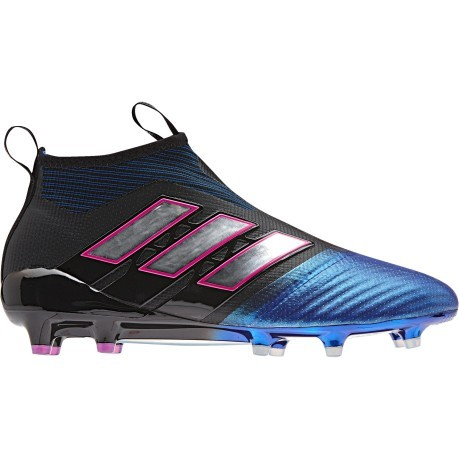 Chaussures de football Ace 17 PureControl FG bleu blanc