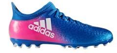 Scarpe Calcio Bambino X 16.3 AG  blu rosa