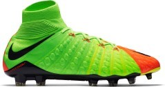 Scarpe Calcio Nike Hypervenom Phantom III FG arancio verde 1