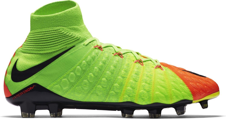 Las botas de fútbol Nike Hypervenom Phantom FG III Radiación Llamarada Pack  colore naranja verde - Nike - SportIT.com d4b0f859799