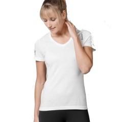 T-Shirt Donna Triblend bianco