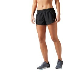 Short Donna Running Essentials 2In nero