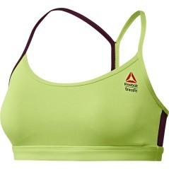 Top Donna CrossFit Front Rack verde variante 1