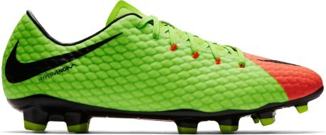 timeless design 48f5f 3af96 Chaussures de football Nike Hypervenom Phelon FG III Rayonnement Flare  Pack. Hypervenom Phelon III d orange vert 1