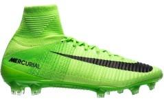 Scarpe Calcio Mercurial SuperFly V FG  verde 1