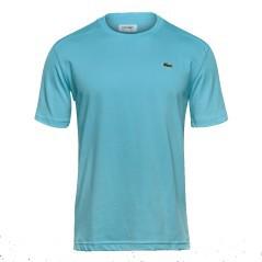 T-Shirt Lacoste Tennis Girocollo in Jersey Tecnico bianco