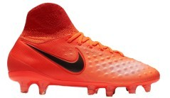 Junior chaussures de Football Nike Magista Obra II FG orange jaune