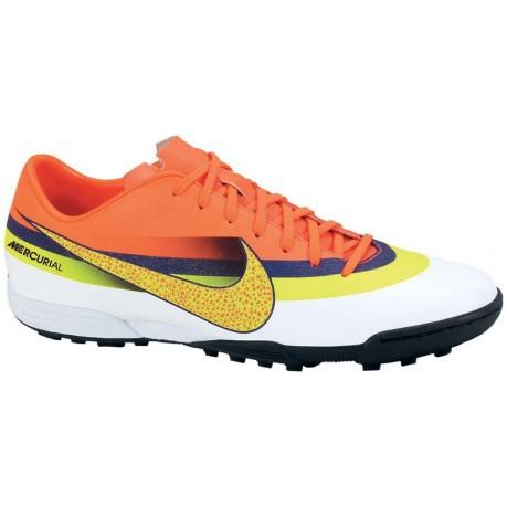 wholesale dealer 4e9b4 24ff8 Mercurial Vortex CR TF soccer 5 colore Orange White - Nike - SportIT.com