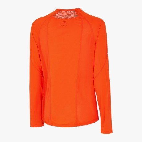 T-Shirt Mann langarm-Sun-Lock orange