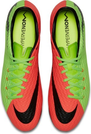 Hypervenom Phelon III orange green 1