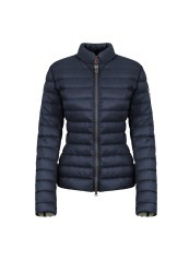 Daunenjacke Damen Light blau grau