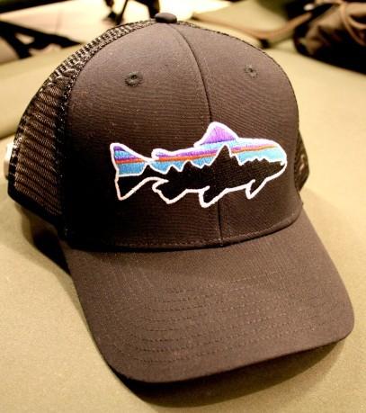 efe9b5193f9ad Hat Fitz Roy Trout colore Black - Patagonia - SportIT.com