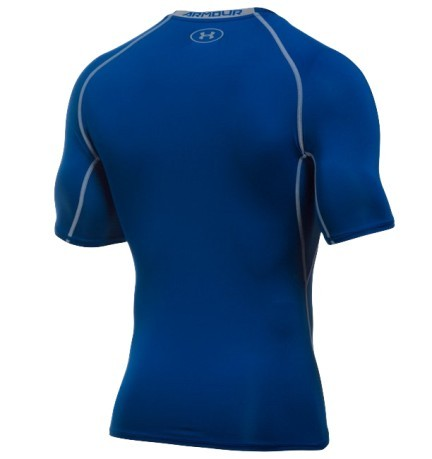 Ua HeatGear Armour Compression Uomo blu