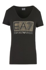 T-Shirt Donna Trainig Logo Series nero