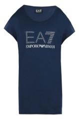 T-Shirt Donna Training Logo Series blu