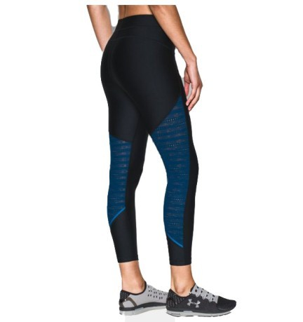 Leggins Donna SuperVent Crop ner blu