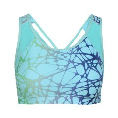 Top L. Light Bra blu