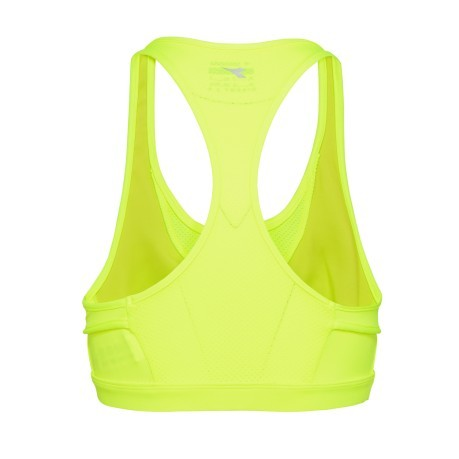 Top Donna L. Supportive Bras giallo