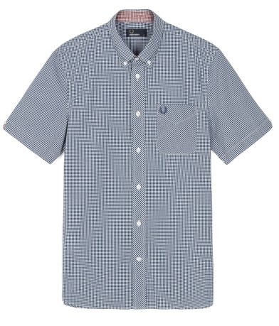 Camicia Classic Short Sleeve Gingham Shirt