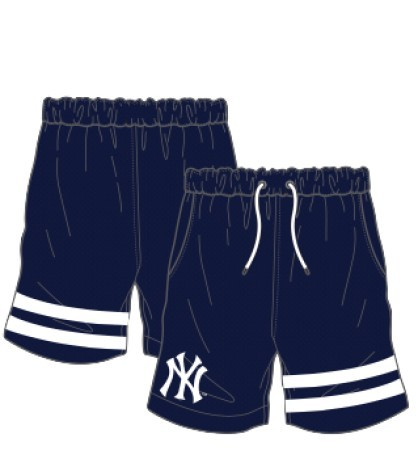 Short Anen New York Yankees bianco