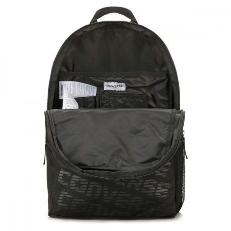 Black Speed Bag Backpack nero
