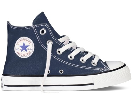 Chuck Taylor Canvas Core Hi Jr blu