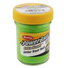 Pasta galleggiante Powerbait Glitter Trout Bait