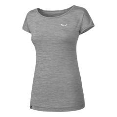 T-Shirt Donna Puez Melange grigio