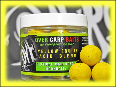 HookBaits Yellow Fruit 16 mm giallo