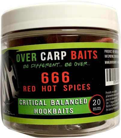 HookBaits 666 Red Hot Chilli Spice 20 mm