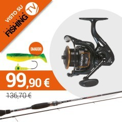 Combo Spinning Street Fishing Rapture Dogma 702UL