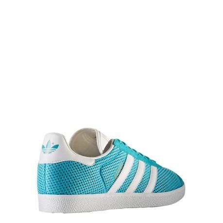 Mens Shoes Gazelle Mesh colore Light blue White - Adidas Originals ... 2b6236b4c
