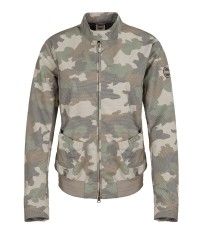Bomber Women's Camouflage patterned beige
