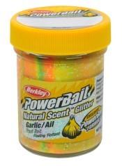 Berkley Powerbait Natural Scent Glitter Garlic Spring Green