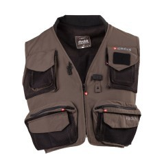 Gilet Stra Fly Vest marrone nero