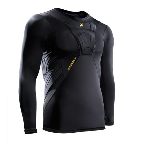 T-Shirt Goalkeeper BodyShield 3/4 GK black