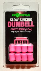 Slow Sinking Dumbells 12 mm beige
