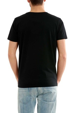 T-Shirt Uomo Stampa Surf Garage nero