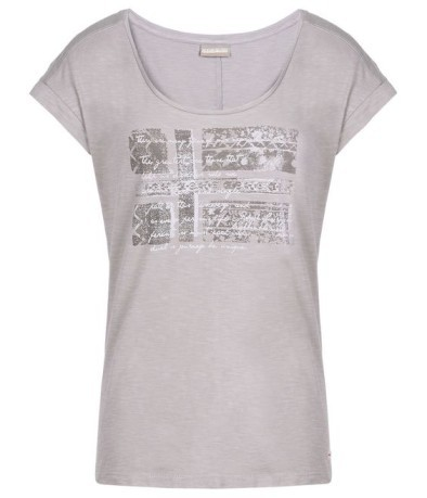 T-Shirt Woman Sandino grey