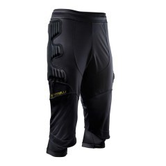Sotto Pantaloni Portiere Junior BodyShield 3/4 GK nero