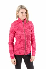 Jacket ladies Embossed pink Stretch