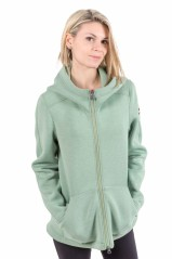 Ladies ' jacket With Hood green