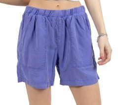 Short Donna In Tencel viola